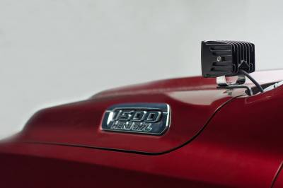 ZROADZ - 2019-2021 Ram 1500 Hood Hinge LED Kit with (2) 3 Inch LED Pod Lights - PN #Z364721-KIT2 - Image 8
