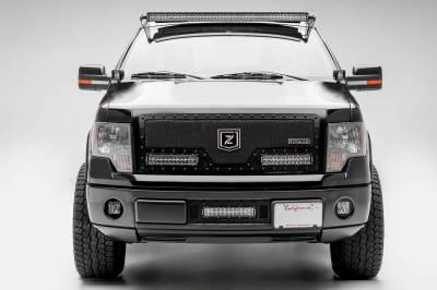 ZROADZ - Ford Hood Hinge LED Bracket to mount (2) 3 Inch LED Pod Lights - PN #Z365601 - Image 7