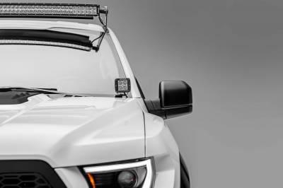 ZROADZ - 2017-2021 Ford F-150 Raptor Hood Hinge LED Bracket to mount (2) 3 Inch LED Pod Lights - PN #Z365701 - Image 5