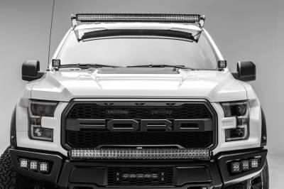 ZROADZ - 2017-2021 Ford F-150 Raptor Hood Hinge LED Bracket to mount (2) 3 Inch LED Pod Lights - PN #Z365701 - Image 6