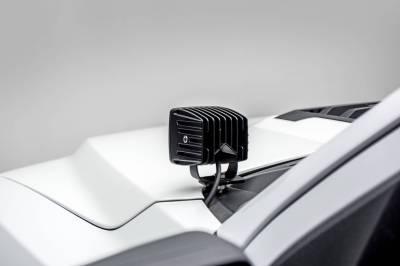 ZROADZ - 2017-2020 Ford F-150 Raptor Hood Hinge LED Kit with (2) 3 Inch LED Pod Lights - PN #Z365701-KIT2 - Image 2