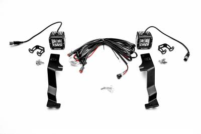 ZROADZ - 2017-2020 Ford F-150 Raptor Hood Hinge LED Kit with (2) 3 Inch LED Pod Lights - PN #Z365701-KIT2 - Image 14