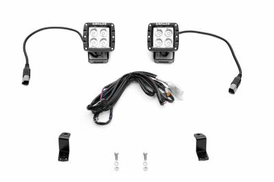 ZROADZ - 2018-2020 Ford F-150 Hood Hinge LED Kit with (2) 3 Inch LED Pod Lights - PN #Z365711-KIT2 - Image 2