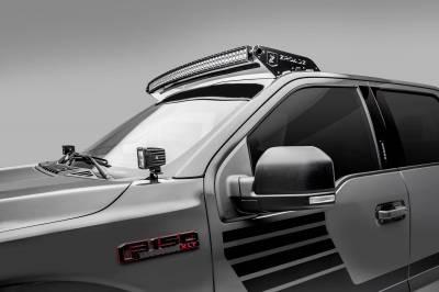 ZROADZ - 2018-2021 Ford F-150 Hood Hinge LED Kit with (2) 3 Inch LED Pod Lights - PN #Z365711-KIT2 - Image 2