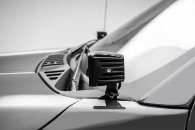 ZROADZ - 2018-2021 Ford F-150 Hood Hinge LED Kit with (2) 3 Inch LED Pod Lights - PN #Z365711-KIT2 - Image 7