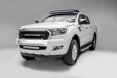 ZROADZ - 2015-2018 Ford Ranger T6 Hood Hinge LED Bracket to mount (2) 3 Inch LED Pod Lights - PN #Z365761 - Image 3