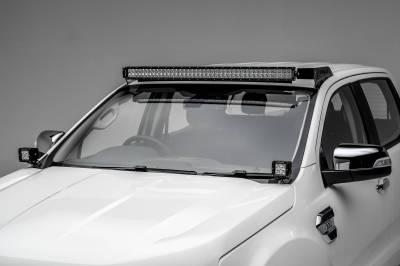 ZROADZ - 2015-2018 Ford Ranger T6 Hood Hinge LED Bracket to mount (2) 3 Inch LED Pod Lights - PN #Z365761 - Image 4