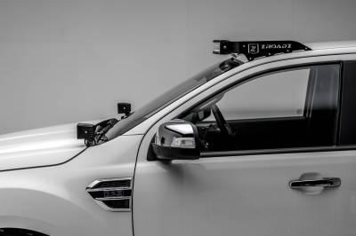 ZROADZ - 2015-2018 Ford Ranger T6 Hood Hinge LED Bracket to mount (2) 3 Inch LED Pod Lights - PN #Z365761 - Image 7