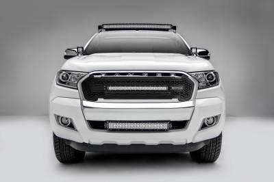 ZROADZ - 2015-2018 Ford Ranger T6 Hood Hinge LED Bracket to mount (2) 3 Inch LED Pod Lights - PN #Z365761 - Image 8