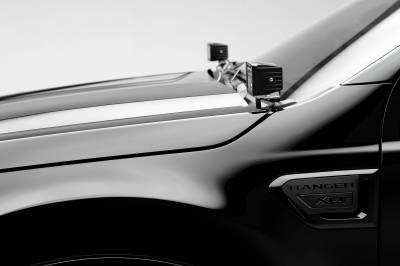 ZROADZ - 2019-2021 Ford Ranger Hood Hinge LED Kit with (2) 3 Inch LED Pod Lights - PN #Z365821-KIT2 - Image 2