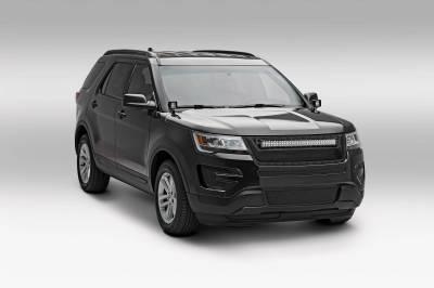 ZROADZ - 2016-2017 Ford Explorer Hood Hinge LED Bracket to mount (2) 3 Inch LED Pod Lights - PN #Z366641 - Image 5