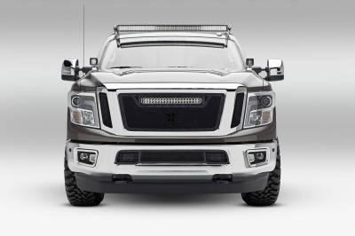 ZROADZ - 2016-2019 Nissan Titan Hood Hinge LED Bracket to mount (2) 3 Inch LED Pod Lights - PN #Z367581 - Image 4