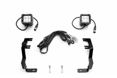 ZROADZ - 2016-2019 Nissan Titan Hood Hinge LED Kit with (2) 3 Inch LED Pod Lights - PN #Z367581-KIT2 - Image 2
