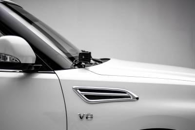 ZROADZ - 2010-2017 Nissan Patrol Y62 Hood Hinge LED Kit with (2) 3 Inch LED Pod Lights - PN #Z367871-KIT2 - Image 1