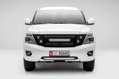 ZROADZ - 2010-2017 Nissan Patrol Y62 Hood Hinge LED Kit with (2) 3 Inch LED Pod Lights - PN #Z367871-KIT2 - Image 5