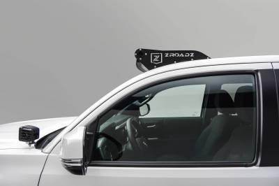 ZROADZ - 2016-2021 Toyota Tacoma Hood Hinge LED Bracket to mount (2) 3 Inch LED Pod Lights - PN #Z369401 - Image 3