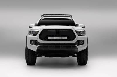 ZROADZ - 2016-2021 Toyota Tacoma Hood Hinge LED Bracket to mount (2) 3 Inch LED Pod Lights - PN #Z369401 - Image 6