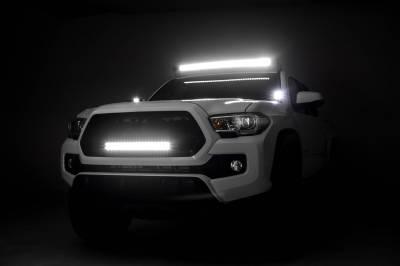 ZROADZ - 2016-2021 Toyota Tacoma Hood Hinge LED Bracket to mount (2) 3 Inch LED Pod Lights - PN #Z369401 - Image 7