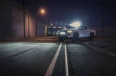 ZROADZ - 2016-2021 Toyota Tacoma Hood Hinge LED Bracket to mount (2) 3 Inch LED Pod Lights - PN #Z369401 - Image 10