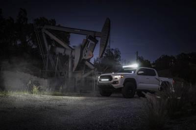 ZROADZ OFF ROAD PRODUCTS - 2016-2021 Toyota Tacoma Hood Hinge LED Kit with (2) 3 Inch LED Pod Lights - PN #Z369401-KIT2 - Image 16