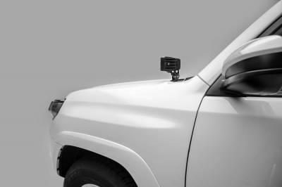 ZROADZ - 2014-2020 Toyota 4Runner Hood Hinge LED Kit with (2) 3 Inch LED Pod Lights - PN #Z369491-KIT2 - Image 2