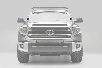 ZROADZ OFF ROAD PRODUCTS - 2014-2021 Toyota Tundra Hood Hinge LED Bracket to mount (2) 3 Inch LED Pod Lights - PN #Z369641 - Image 3
