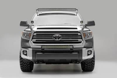 ZROADZ OFF ROAD PRODUCTS - 2014-2021 Toyota Tundra Hood Hinge LED Bracket to mount (2) 3 Inch LED Pod Lights - PN #Z369641 - Image 4