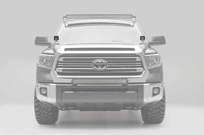 ZROADZ - 2014-2021 Toyota Tundra Hood Hinge LED Kit with (2) 3 Inch LED Pod Lights - PN #Z369641-KIT2 - Image 1