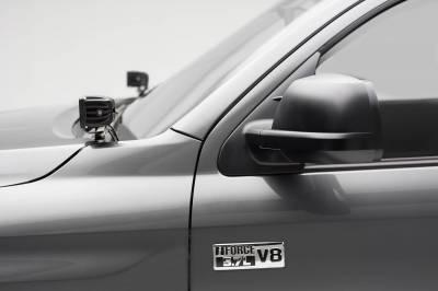 ZROADZ - 2014-2021 Toyota Tundra Hood Hinge LED Kit with (2) 3 Inch LED Pod Lights - PN #Z369641-KIT2 - Image 4