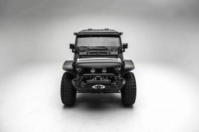 ZROADZ OFF ROAD PRODUCTS - 2007-2018 Jeep JK Front Roof LED Bracket to mount (1) 50 or 52 Inch Staight LED Light Bar - PN #Z374811 - Image 8