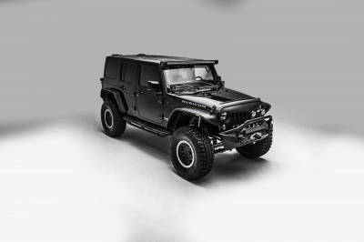 ZROADZ - 2007-2018 Jeep JK Lower A Pillar LED Bracket to mount (2) 3 Inch LED Pod Lights - PN #Z374814 - Image 7