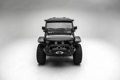 ZROADZ - 2007-2018 Jeep JK Lower A Pillar LED Bracket to mount (2) 3 Inch LED Pod Lights - PN #Z374814 - Image 8