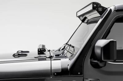 ZROADZ - Jeep JL, Gladiator Front Roof LED Bracket to mount (1) 50 or 52 Inch Staight LED Light Bar - PN #Z374831 - Image 1