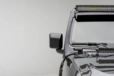 ZROADZ - Jeep JL, Gladiator Front Roof LED Bracket to mount (1) 50 or 52 Inch Staight LED Light Bar - PN #Z374831 - Image 3
