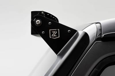 ZROADZ - Jeep JL, Gladiator Front Roof LED Bracket to mount (1) 50 or 52 Inch Straight LED Light Bar and (2) 3 Inch LED Pod Lights - PN #Z374831-BK2 - Image 8