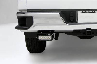 ZROADZ - 2019-2021 Silverado, Sierra 1500 Rear Bumper LED Kit with (2) 6 Inch LED Straight Double Row Light Bars - PN #Z382182-KIT - Image 1