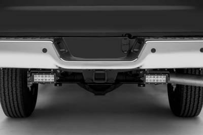 ZROADZ - Ram Rear Bumper LED Kit with (2) 6 Inch LED Straight Double Row Light Bars - PN #Z384521-KIT - Image 2
