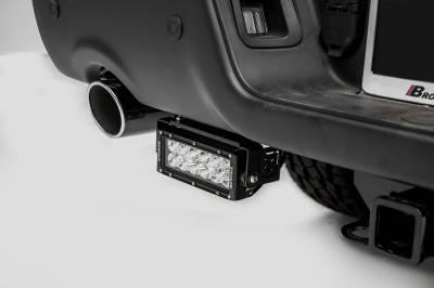 ZROADZ - 2015-2018 Ram Rebel Rear Bumper LED Kit with (2) 6 Inch LED Straight Double Row Light Bars - PN #Z384551-KIT - Image 1