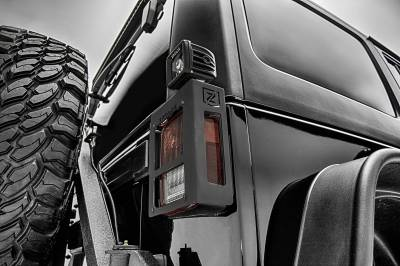 ZROADZ OFF ROAD PRODUCTS - 2007-2018 Jeep JK Tail Light Protector LED Kit with (2) 3 Inch LED Pod Lights - PN #Z384811-KIT - Image 2
