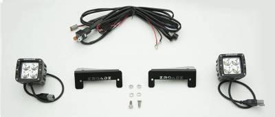 ZROADZ - 2007-2018 Jeep JK Tail Light Top LED Kit with (2) 3 Inch LED Pod Lights - PN #Z384812-KIT - Image 2
