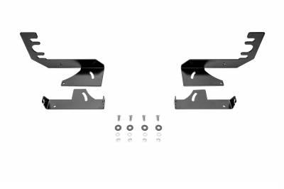ZROADZ OFF ROAD PRODUCTS - 2019-2021 Ram 1500 Rear Bumper LED Bracket to mount (2) 6 Inch Straight Single Row Light Bar - PN #Z384821 - Image 4