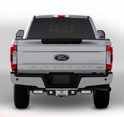 ZROADZ OFF ROAD PRODUCTS - 2017-2021 Ford Super Duty Rear Bumper LED Bracket to mount (2) 6 Inch Straight Light Bar - PN #Z385471 - Image 2