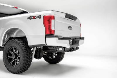 ZROADZ OFF ROAD PRODUCTS - 2017-2021 Ford Super Duty Rear Bumper LED Bracket to mount (2) 6 Inch Straight Light Bar - PN #Z385471 - Image 6