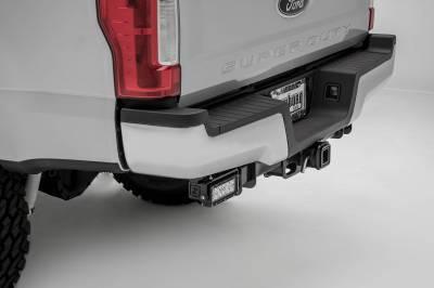 ZROADZ - 2017-2021 Ford Super Duty Rear Bumper LED Kit with (2) 6 Inch LED Straight Double Row Light Bars - PN #Z385471-KIT - Image 3