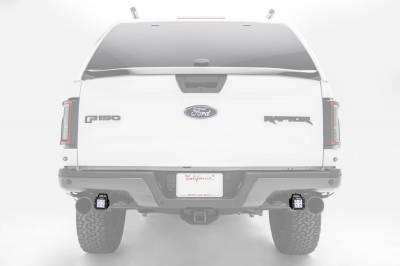 ZROADZ - 2017-2021 Ford F-150 Raptor Rear Bumper LED Kit with (2) 3 Inch LED Pod Lights - PN #Z385651-KIT - Image 1