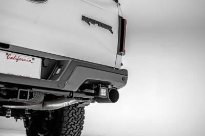 ZROADZ - 2017-2021 Ford F-150 Raptor Rear Bumper LED Kit with (2) 3 Inch LED Pod Lights - PN #Z385651-KIT - Image 2