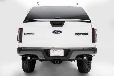 ZROADZ - 2017-2021 Ford F-150 Raptor Rear Bumper LED Kit with (2) 3 Inch LED Pod Lights - PN #Z385651-KIT - Image 3
