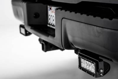 ZROADZ - 2009-2014 Ford F-150 Rear Bumper LED Kit with (2) 6 Inch LED Straight Double Row Light Bars - PN #Z385721-KIT - Image 2