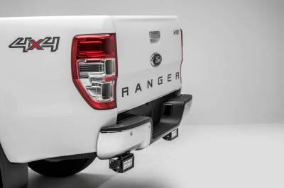 ZROADZ - 2015-2018 Ford Ranger T6 Rear Bumper LED Kit with (2) 6 Inch LED Straight Double Row Light Bars - PN #Z385761-KIT - Image 1