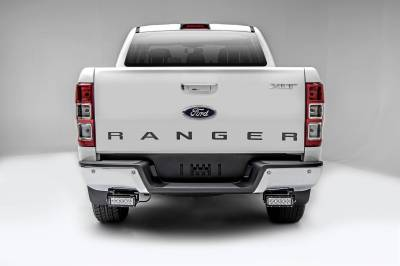 ZROADZ - 2015-2018 Ford Ranger T6 Rear Bumper LED Kit with (2) 6 Inch LED Straight Double Row Light Bars - PN #Z385761-KIT - Image 3